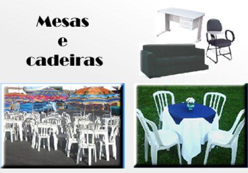 Mesas e Cadeiras para eventos sp