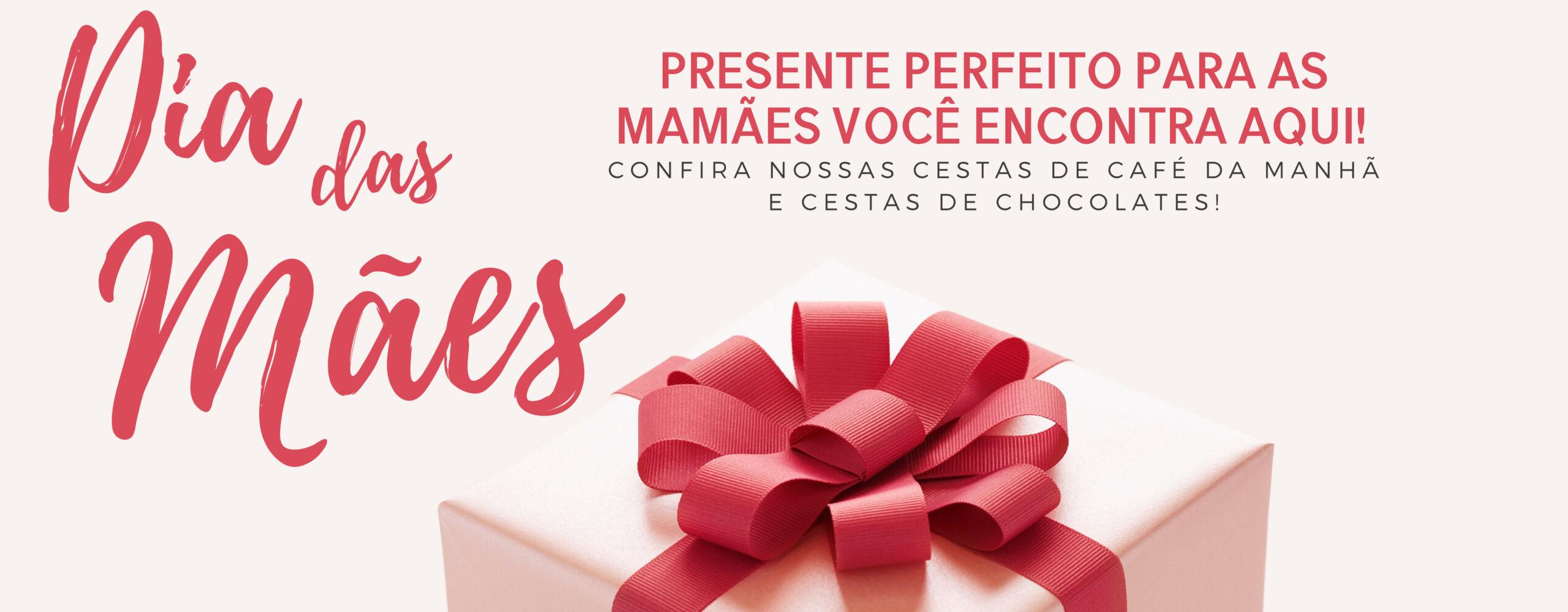 Banner Dia das Mães - CESTAS - LC Rodrigues Eventos